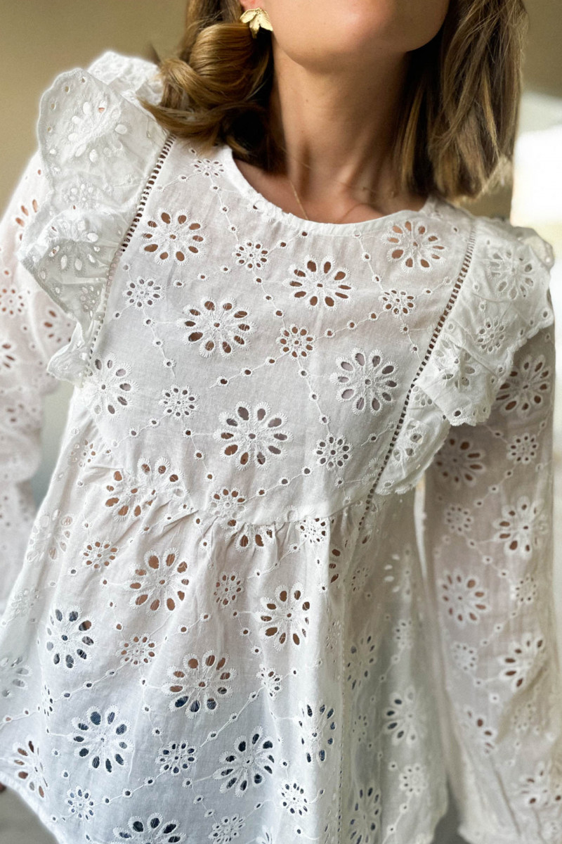 COLOMBE BLOUSE